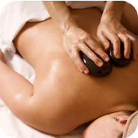 Hot Stone Massage at Body Focus Therapeutic Massage in Cromwell and Meriden Connecticut