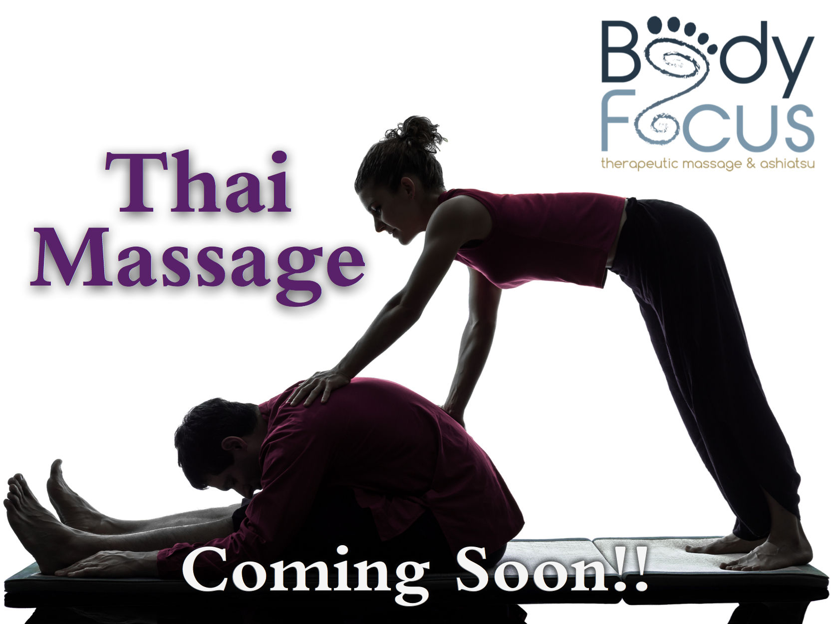 Body Focus Therapeutic Massage Thai Massage Coming Soon