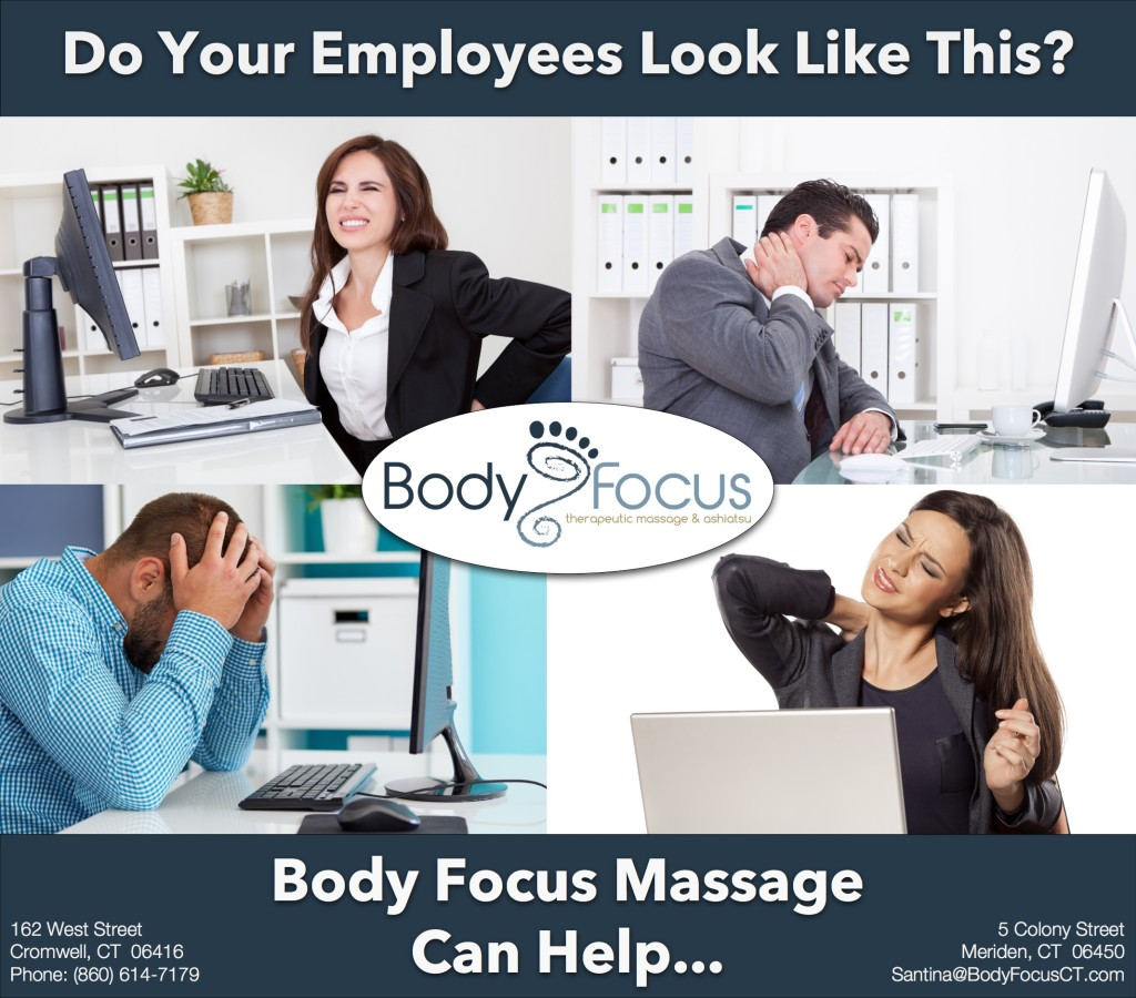 Body Focus Corporate Massage Therapy