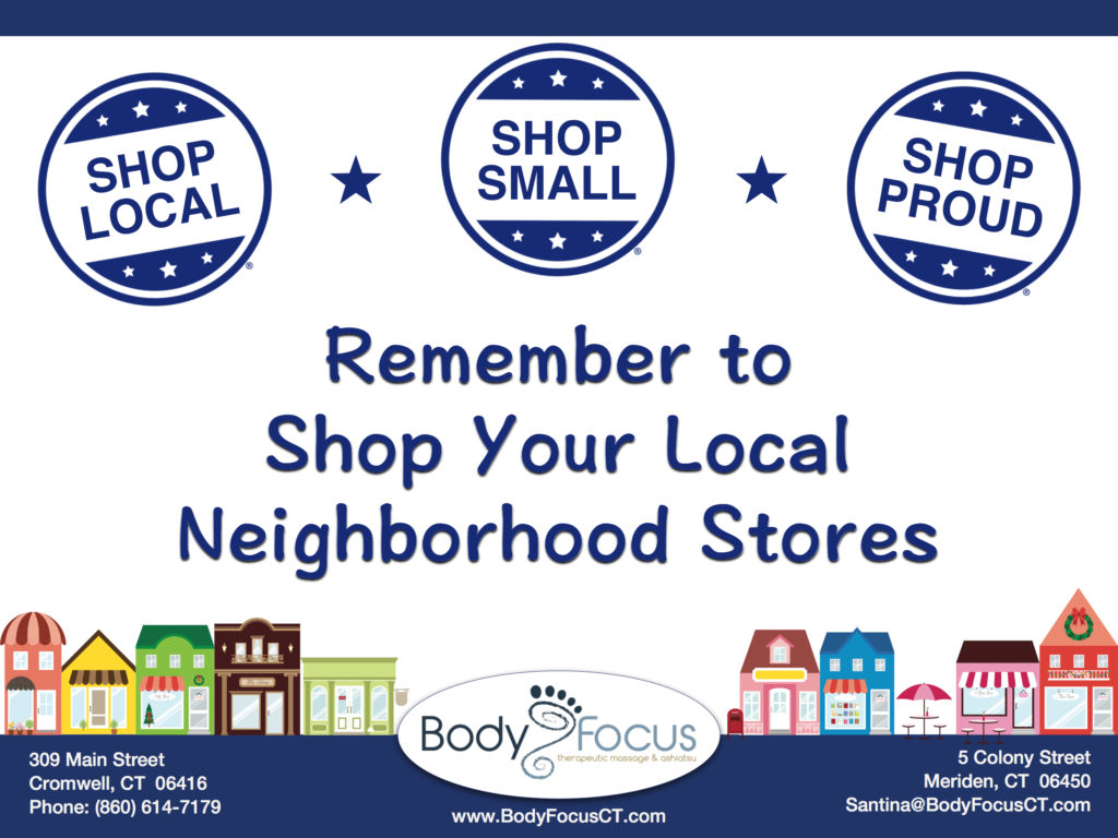 Body Focus Cromwell Meriden Small Business Saturday