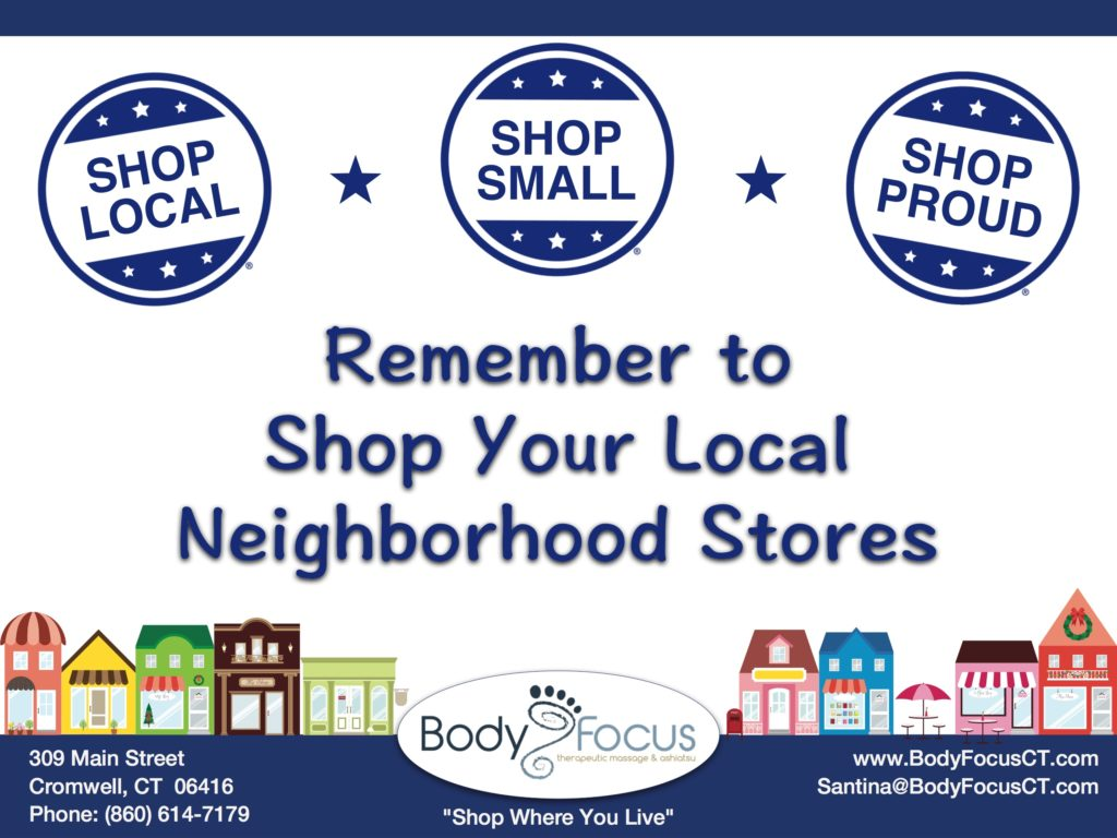 Small Business Saturday Body Focus Massage